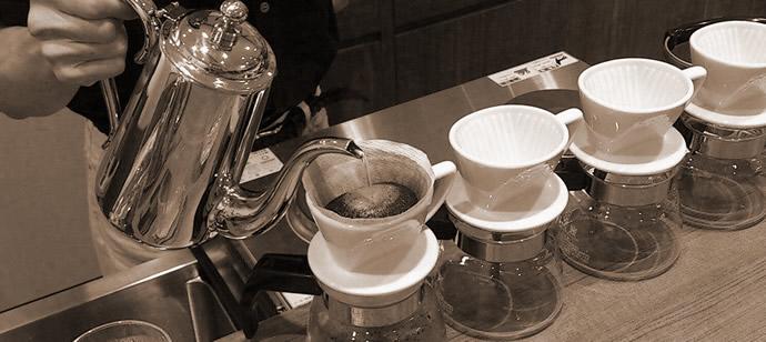 よいコーヒーでおもてなしすること